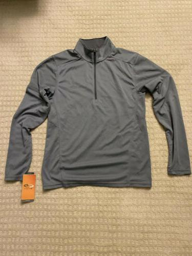 2x Champion C9 1/4 Zip Mens New Blue Gray Pullover