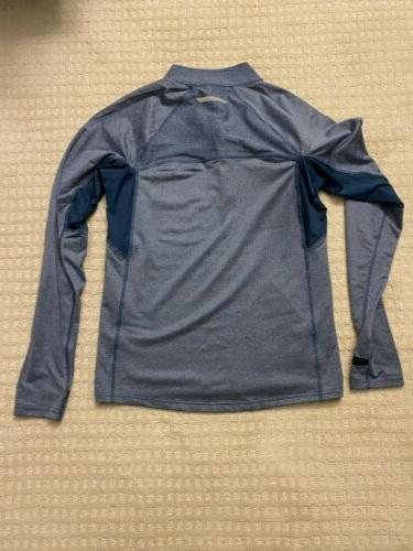 Zip New Blue Longsleeve Pullover