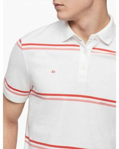 $385 Klein Men's White Polo Size