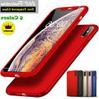 Ultra Thin Hard Case Cover For iPhone XS Max XR X 8 7 6S Plu