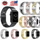 Apple Watch Series 3/2/1 Stainless Steel Wrist Band Clasp Fo