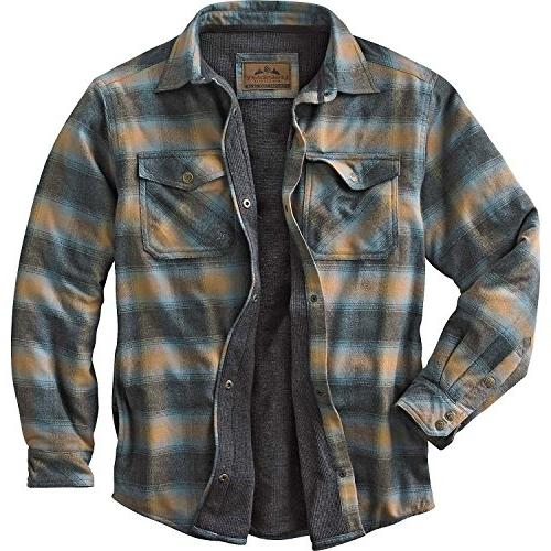 archer thermal lined shirt jacket