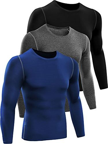 athletic compression running t shirt