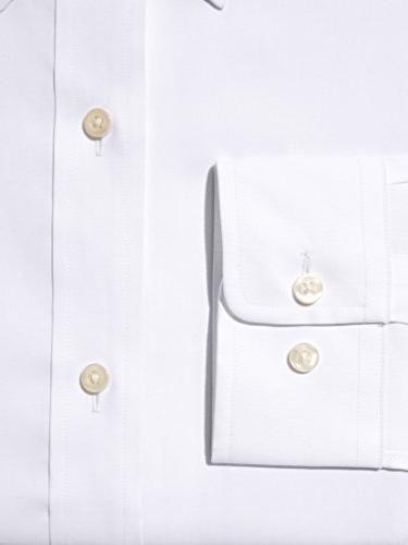 "BUTTONED DOWN Fit Button-Collar Non-Iron Shirt , Neck 33"" Sleeve"