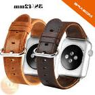 Genuine Leather Strap Band for iWatch Apple Watch 3 2 1 38mm