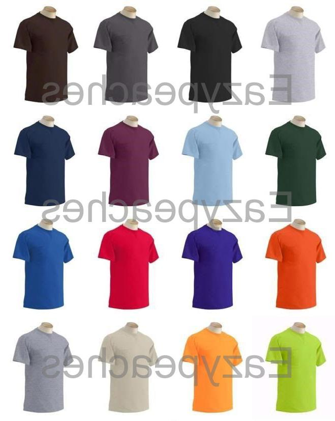 Gildan Mens NEW Size S-XL 2XL 3XL 4XL 5XL Pocket Tees 100% C