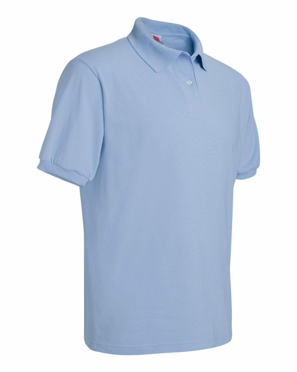 Hanes Tee Blended Jersey Polo golf shirt from S-6XL 054X