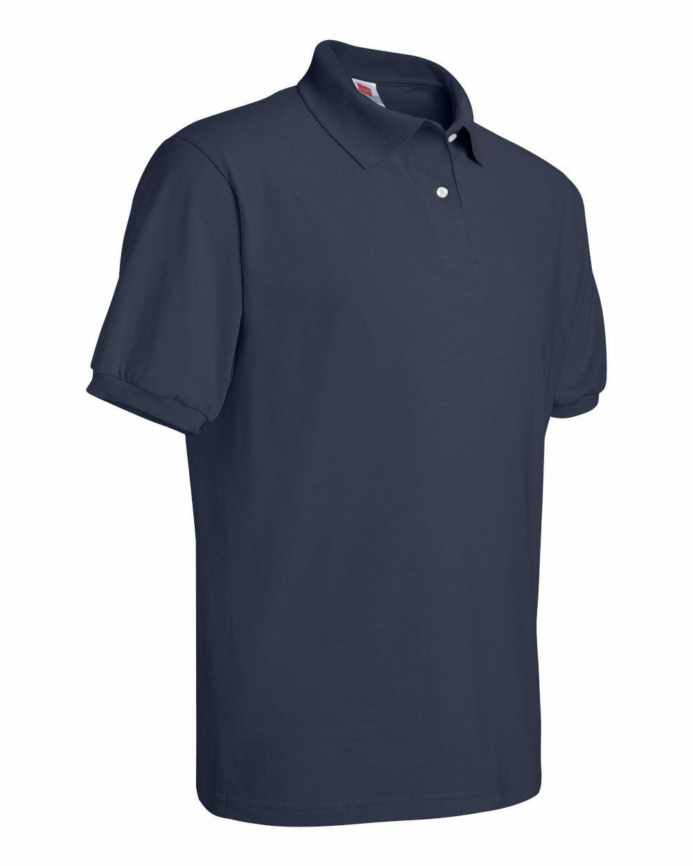Hanes Tee Blended Jersey Sport Mens Polo S-6XL 054X