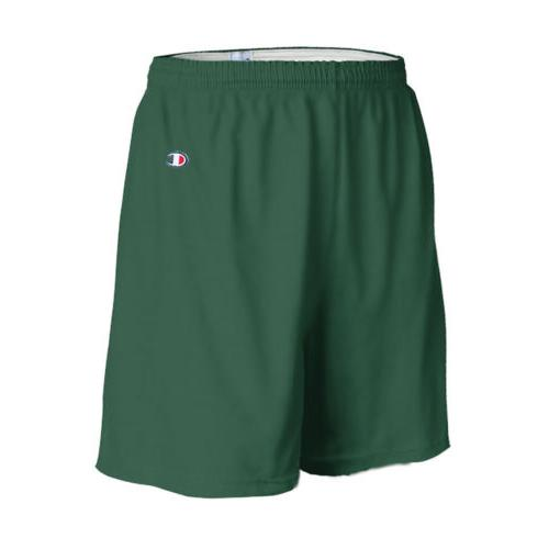 "Champion Men's 6"" Athletic Solid Cotton Gym Workout Shorts w"