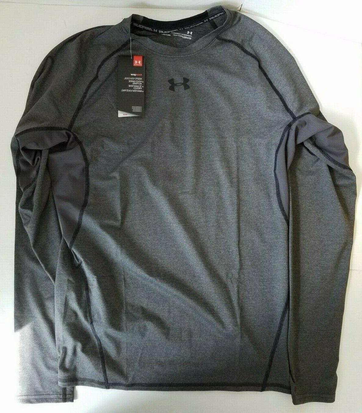 Under Armour Men's HeatGear Armour Long Sleeve Compression S