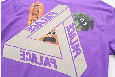 Men's PALACE Hot Food T-Shirts Purple