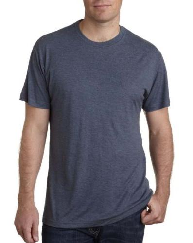 Next Level Men's  Premium Tri-Blend Crew Neck Athletic Fit T