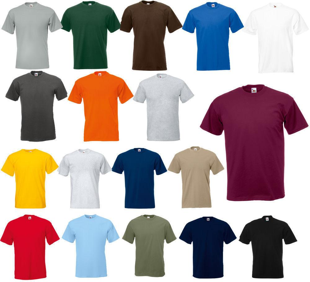 Fruit of the Loom Men's  & Short Sleeves HEAVY Cotton HD T-S