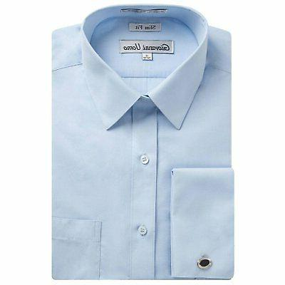 Gentlemens Collection Fit French Dress Shirt