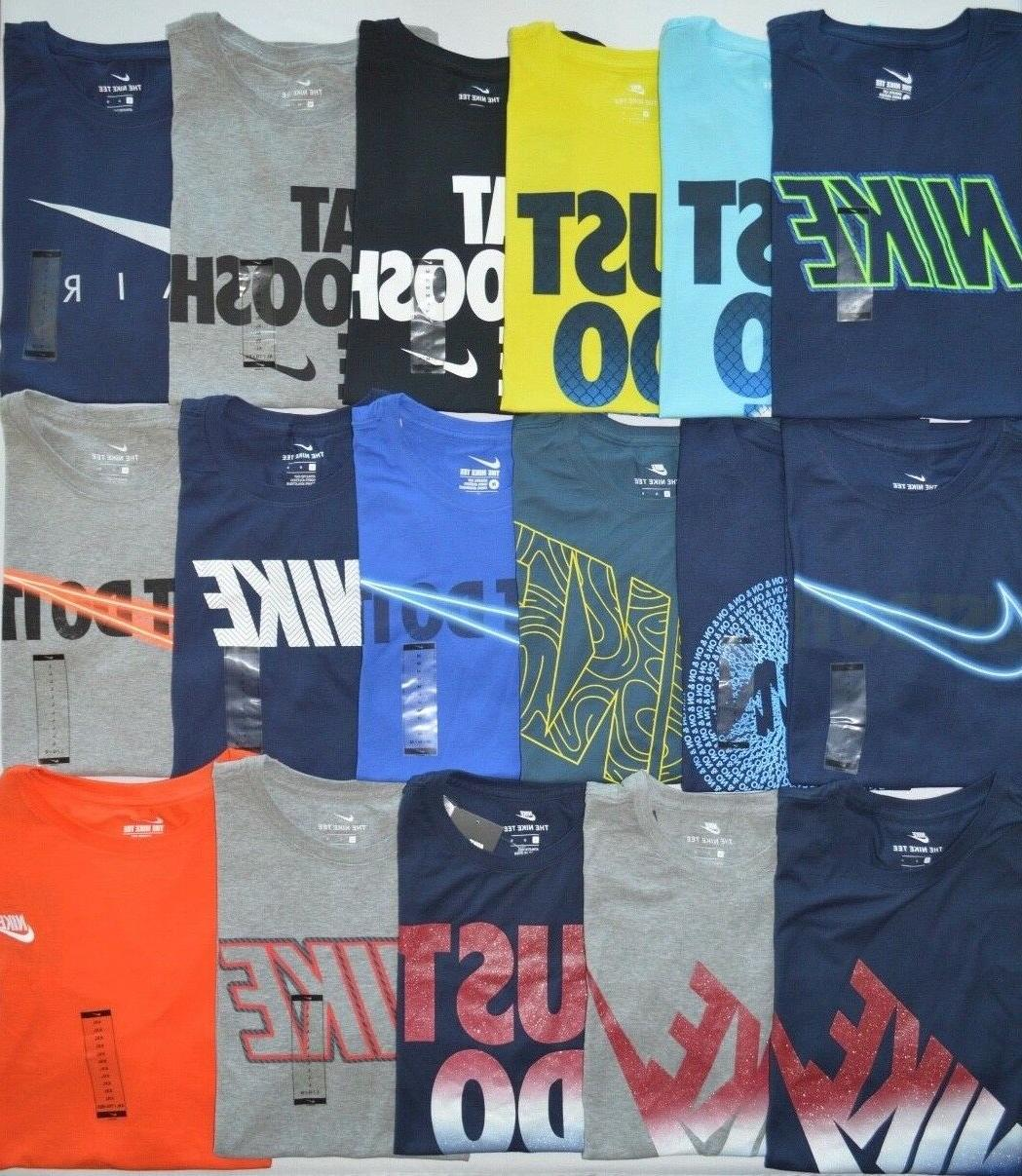 Men's Nike The Nike Tee Athletic Cut Cotton T-Shirt
