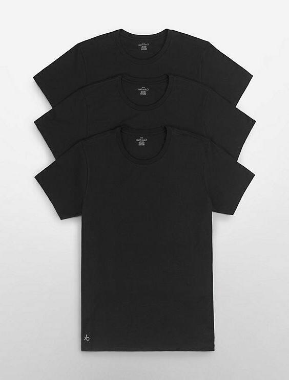 Calvin Pack Undershirts Crew Neck T Classic Fit