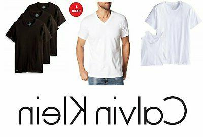 Calvin Men's Cotton Crew Neck Tees