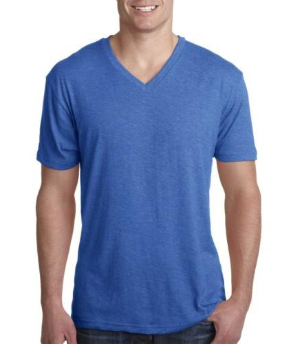 Next Level Men's Tri-Blend V-Neck T-Shirt 6040