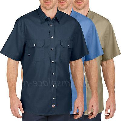 Men's work Shirts Dickies Performance Mobility Short Sleeve