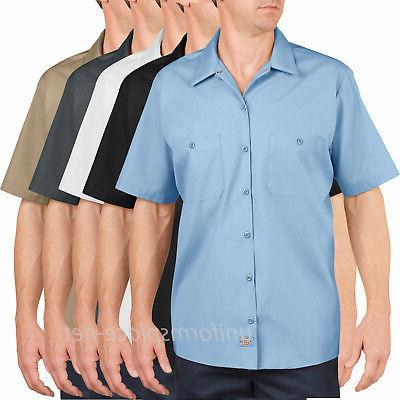 Men's work Shirts Dickies Premium Industrial Short Sleeve Sh