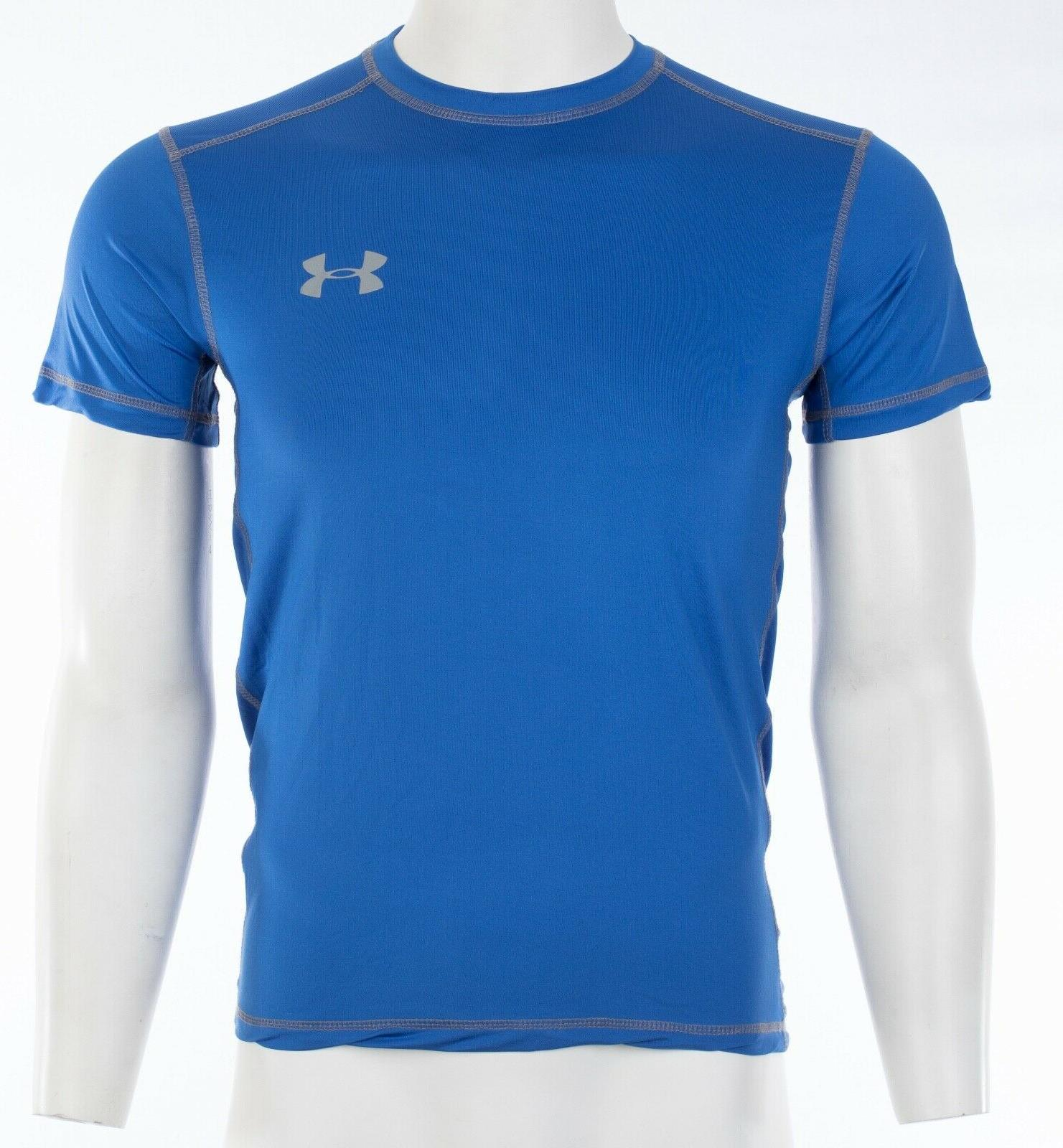 UNDER T-Shirt SOLID ROYAL Semi Fitted Heat Gear $40