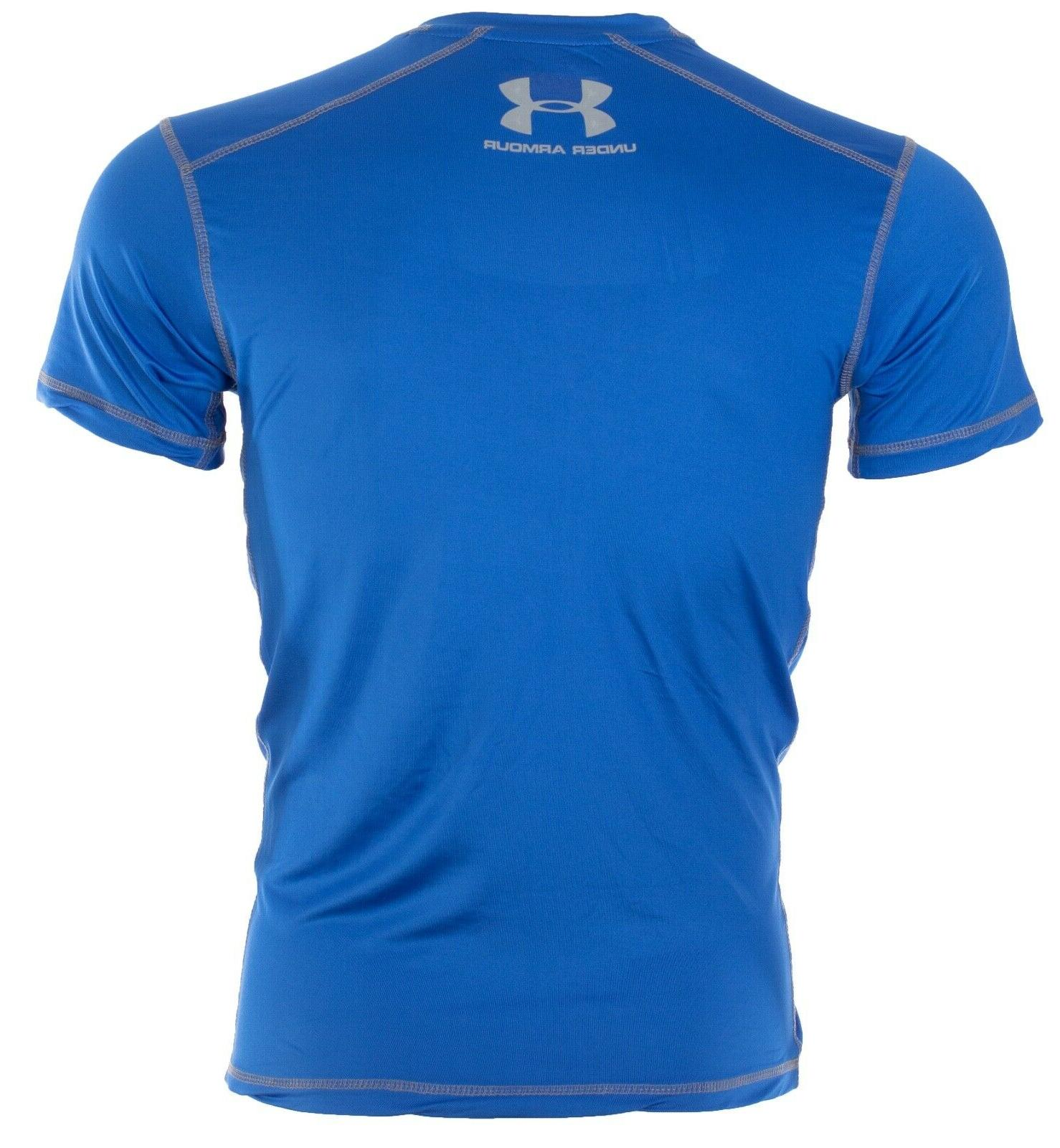 UNDER ARMOUR T-Shirt SOLID ROYAL BLUE $40