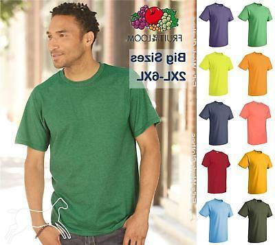 Fruit of the Loom Mens Blank Short Sleeve Heavy Cotton HD T