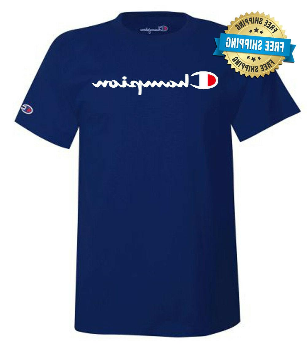 Champion Jersey Logo Small-3XL----Brand New----