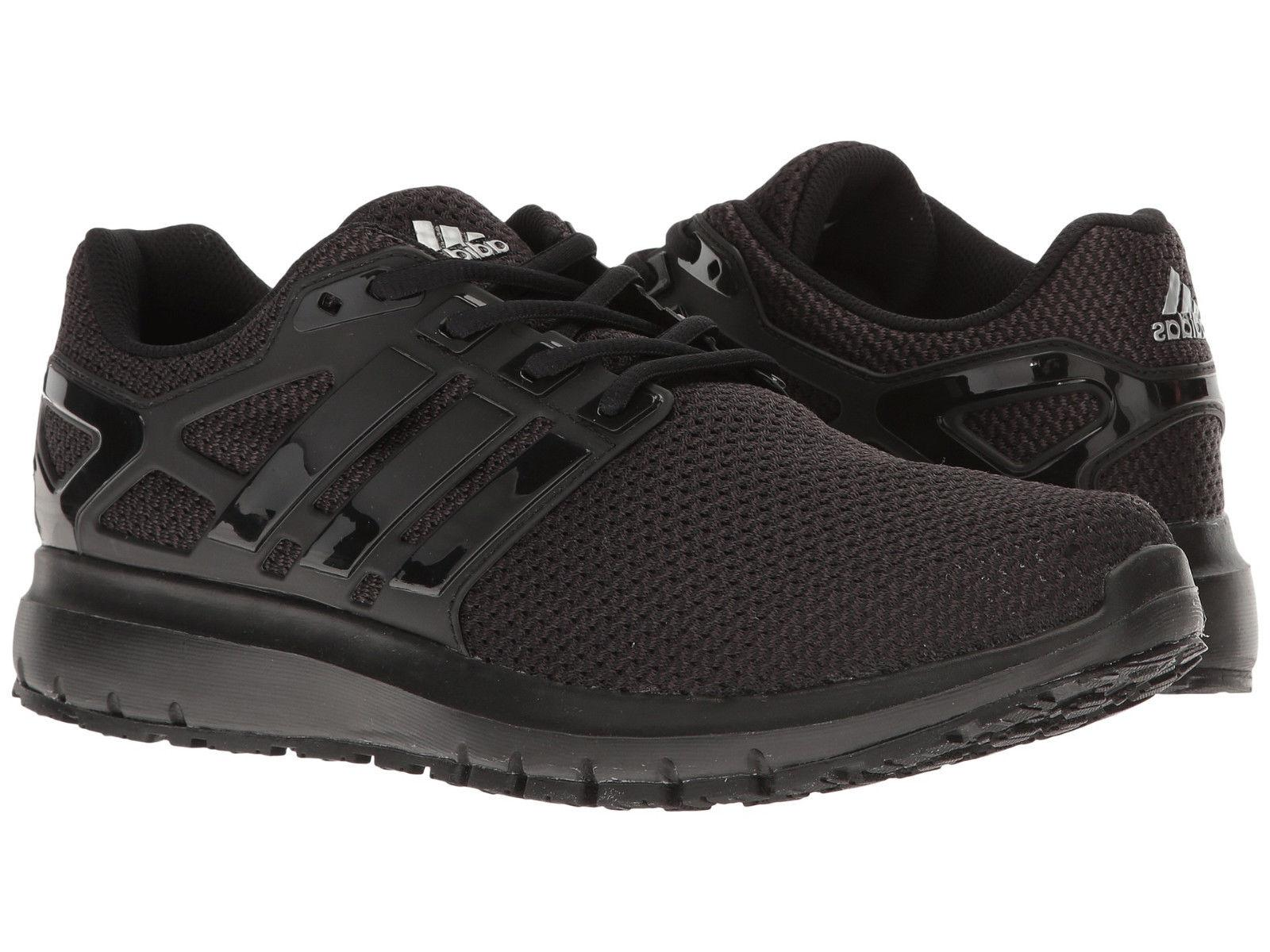 Mens Adidas Energy Cloud WTC Black Running Athletic Sport Sh