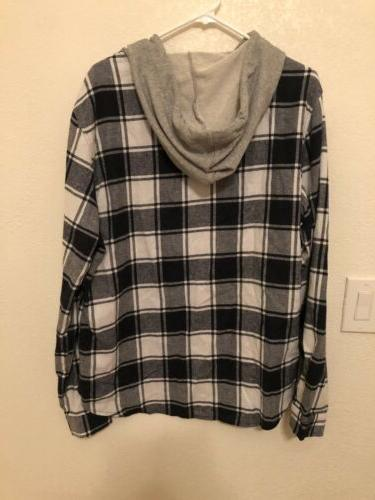 H2H Mens Flannel Size Large
