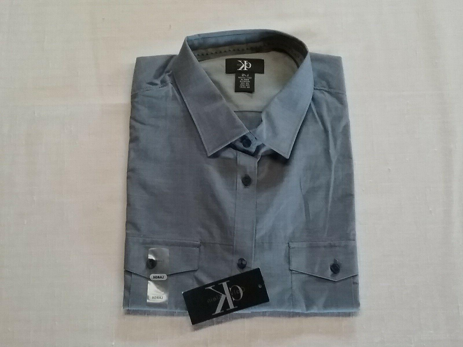 mens lifestyle casual shirt button front long