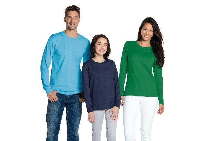 Mens T-Shirt Cotton Blank Color Tee PC54LS