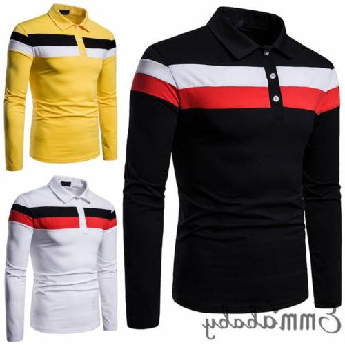 Mens Sleeve Shirts Casual Breathable Soft Tops