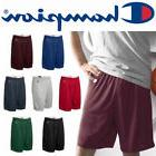 "Champion Mens POLYESTER MESH 9"" GYM SHORTS S-XL XXL 3XL Bask"