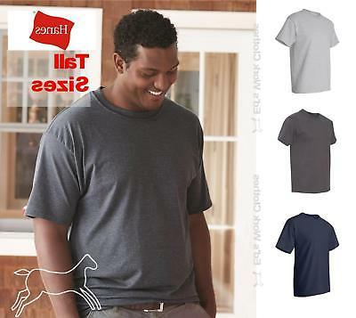 Hanes Mens Short Sleeve Cotton Beefy T Big & Tall T Shirt 51