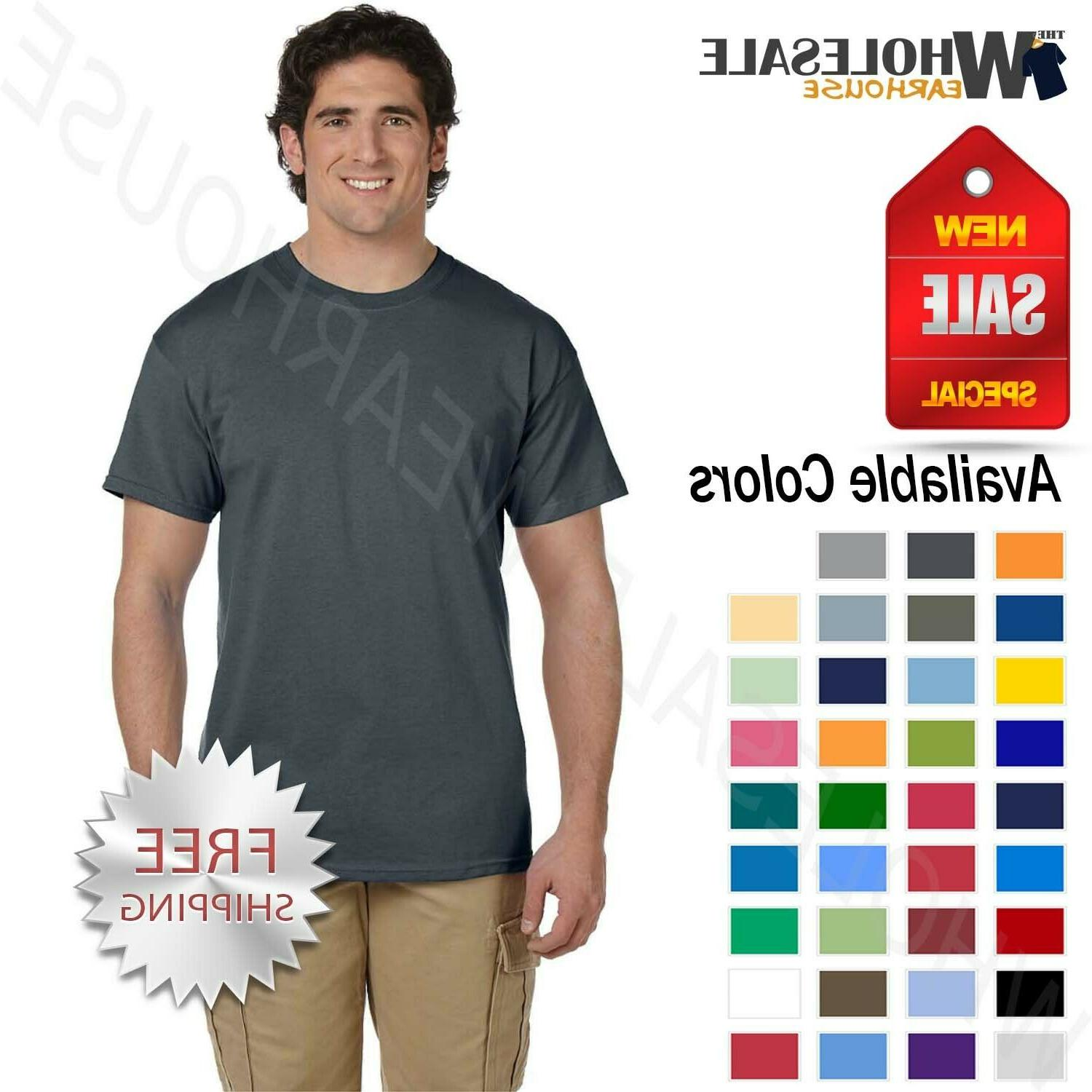 mens short sleeves heavy weight cotton 6