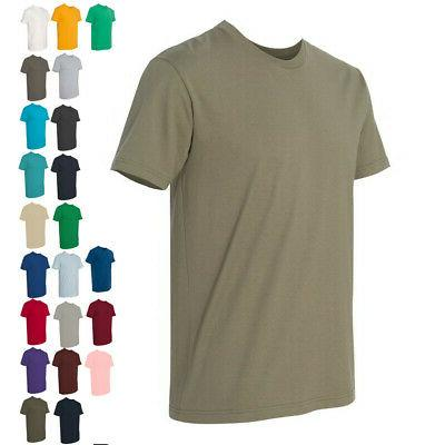 Next Level Mens Tops Tees Premium Fitted Short Sleeve Crew T
