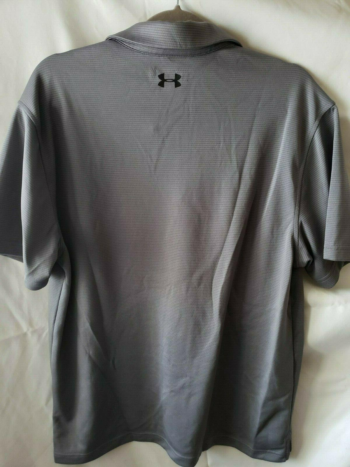 **MINOR DEFECT**Under Armour Tech Golf 040/Grey, Large