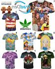 New 3D Disney Movie Series Weed Trip T-Shirt Alice Neverland