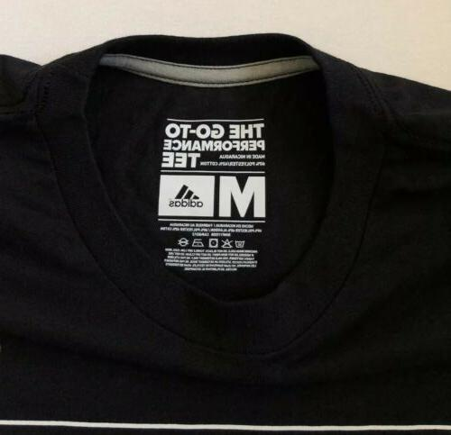 NEW Go To Performance Tennis Black Climalite T-Shirt Size