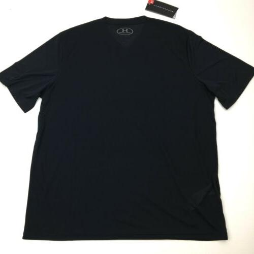 NEW Under Armour Heat Loose Fit T-Shirt Black Gray