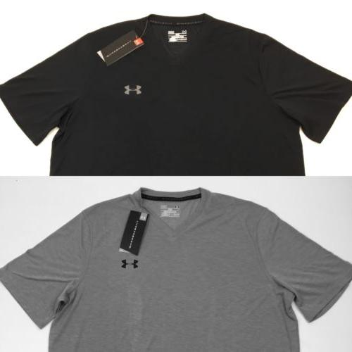 NEW Under Armour Mens Heat Gear V-Neck Loose Fit Threadborne