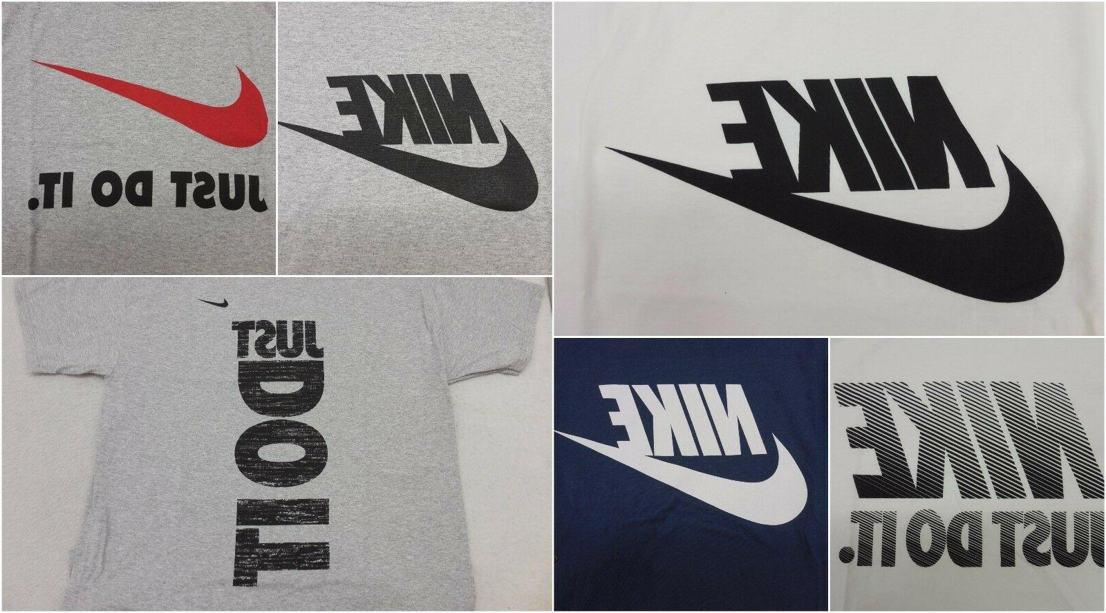 new mens just do it logo graphic