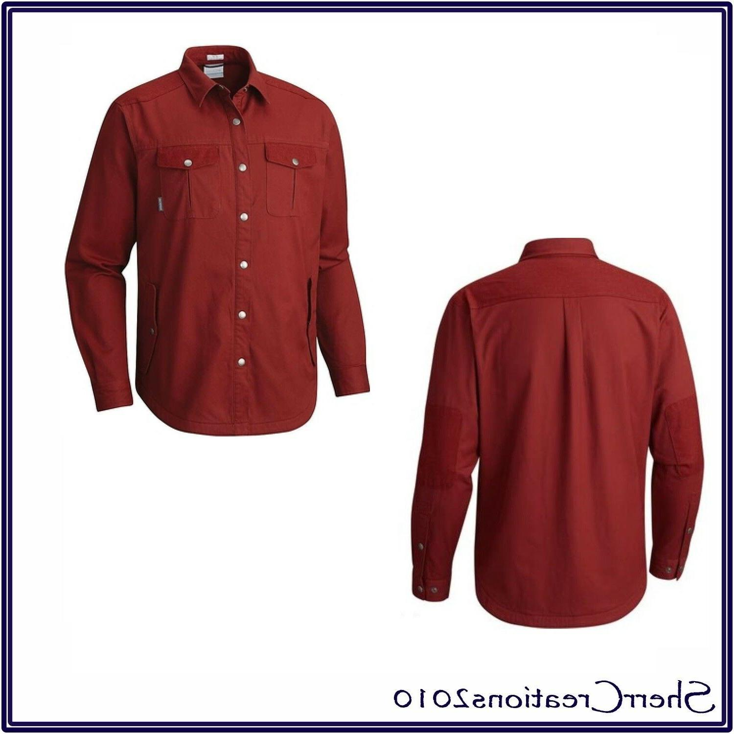NWT Columbia Men's Hyland Woods 1736131-837 Shirt Jacket MSR