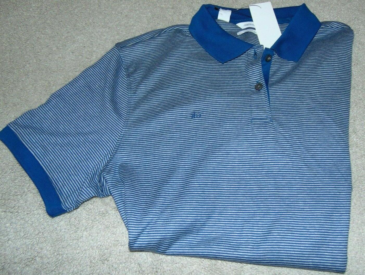 nwt men s striped short sleeve polo