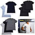 Polo Ralph Lauren Mens 3 Pack V Neck Undershirts Pony Logo T