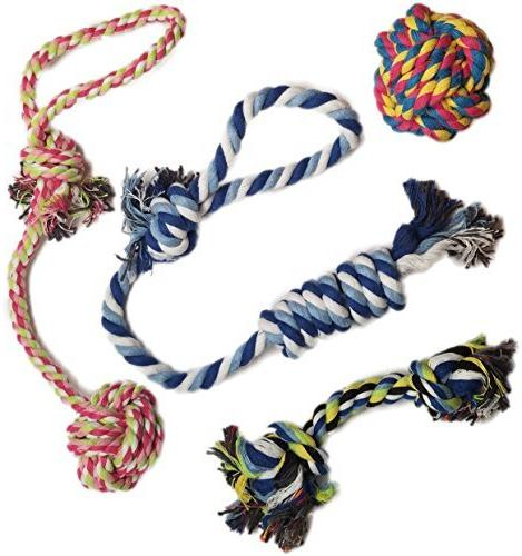 Otterly Pets Puppy Dog Pet Rope Toys For Small to Medium Dog