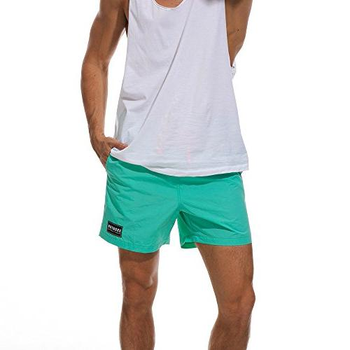 SSYUNO Men Running Surfing Size Beach Shorts Board