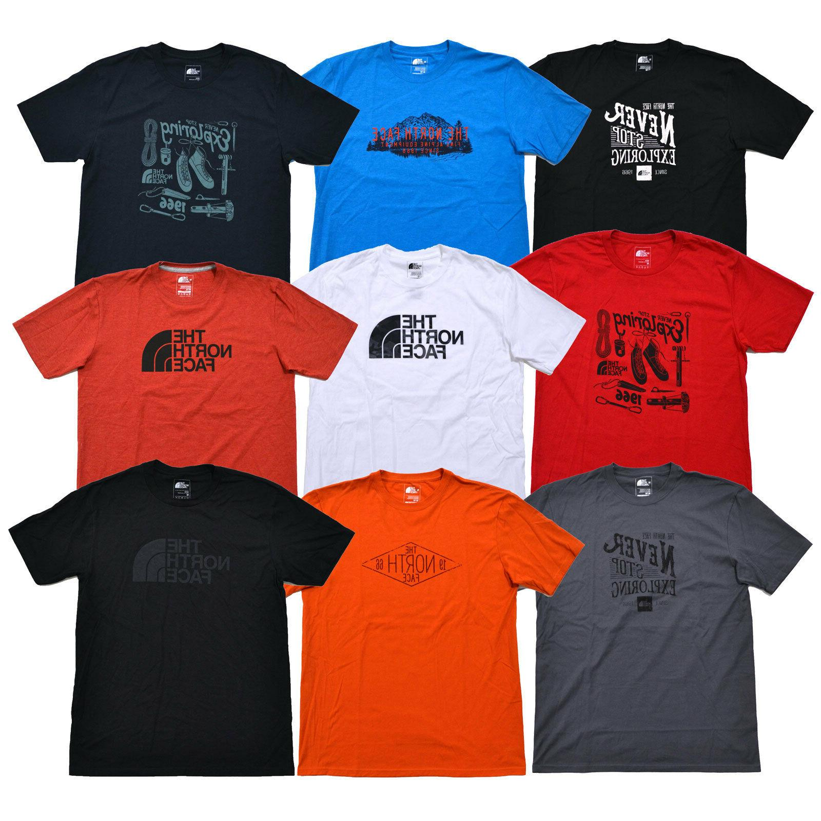 The North Face T-shirt Mens Graphic Tee Crew Neck Short Slee