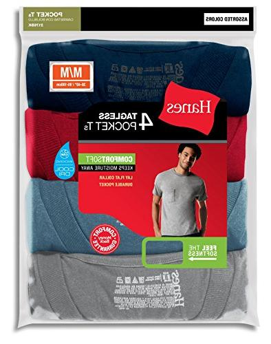 Hanes TAGLESS ComfortSoft Dyed Crewneck -ASSORTED